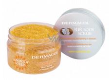 Dermacol Sun Body Scrub telový peeling s kokosovým olejom 200 g