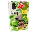 Tea Lights s vůní Zeleného čaje vonné čajové svíčky 6 kusů