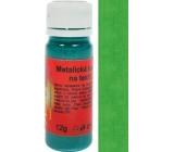 Art e Miss Barva na světlý i tmavý textil 33 metalická zelená 12 g
