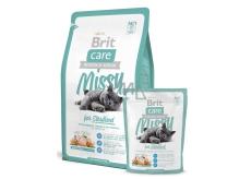 Brit Care Missy Sterilised Kuře + ryža pre sterilizované mačky 2 kg, Hypoalergénne kompletné krmivo