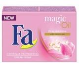Fa Magic Oil Pink Jasmine Scent krémové toaletní mýdlo 90 g