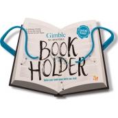If Gimble Adjustable Bookholder Držiak na knihu Cestovné modrý 340 x 240 x 20 mm