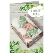 Nekupto Hracie prianie k narodenia bábätka Josef Svejkovský Z machu a papradie