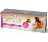 Joanna Sensual Argan Oil depilační krém na nohy 100 g