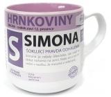 Nekupto Hrnkoviny Hrnek se jménem Simona 0,4 litru