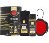 Axe Men Gold sprchový gél pre mužov 250 ml + dezodorant sprej pre mužov 150 ml + špongia, kozmetická sada