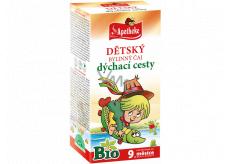 Apotheke Bio Dýchacie cesty bylinný čaj pre deti od 9. mesiaca 20 x 1,5 g