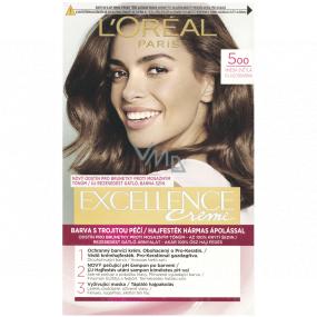 Loreal Paris Excellence Creme farba na vlasy 500 Hnedá svetlá