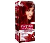Garnier Color Sensation barva na vlasy 4.60 Intenzivní tmavě červená