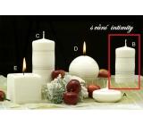 Lima Zimní třpyt Intimity vonná svíčka válec 50 x 100 mm 1 kus