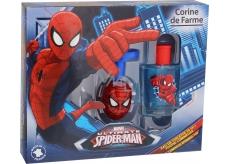 Corine de Farmu Marvel Spiderman toaletná voda pre chlapcov 50 ml + svetielkujúce vĺčik, darčeková sada
