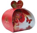 English Soap Začarované kvety prírodné parfumované mydlo s bambuckým maslom 3 x 20 g