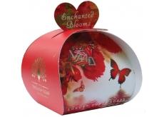 English Soap Začarované květy Přírodní parfémované mýdlo s bambuckým máslem 3x20g