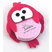 If Tweets zápisník s magnetom Ružový 100 listov