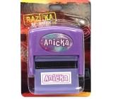 Albi Razítko se jménem Anička 6,5 cm × 5,3 cm × 2,5 cm
