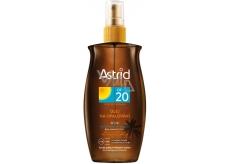 Astrid Sun OF20 olej na opalování 200 ml sprej