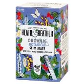 H & H BIO Detoxikačný Maté a Psyllium čaj pre prirodzený úbytok hmotnosti ns 20 x 2g