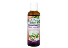 Dr. Popov Ashwagandha (vítaním uspávajúca) originálne bylinné kvapky pre dobrý spánok, duševné zdravie a zmiernenie stresu doplnok stravy 50 ml