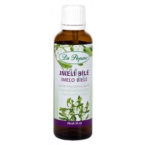 Dr. Popov Imelo biele originálne bylinné kvapky pre zdravý krvný tlak a správnu činnosť cievnej sústavy doplnok stravy 50 ml