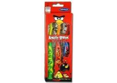 Angry Birds Mäkký kefka na zuby s prísavkou pre deti 3 kusy