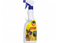 Bio-Enzým Stop Pes prírodné odpudzovač psov pre použitie v interiéri aj v exteriéri rozprašovač 500 ml