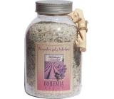 Bohemia Gifts Levanduľa s bylinkami Upokojujúce soľ do kúpeľa 1,2 kg