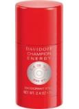 Davidoff Champion Energy deodorant stick pro muže 75 g