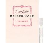 Cartier Baiser Vole Lys Rose toaletní voda pro ženy 1,5 ml s rozprašovačem, Vialka