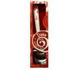 Nekupto Twister Lžička se jménem Dana červená 16 cm 1 kus