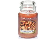 Yankee Candle Cinnamon Stick - Skořicová tyčinka vonná svíčka Classic velká sklo 623 g