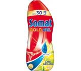 Somat Gold Gel Anti-Grease Lemon & Lime gél s aktívnym odmasťovačom na umývanie riadu v umývačke 990 ml