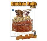 Magnum Kuracie špirálky mäkké prírodné mäsová pochúťka pre psov 25 g