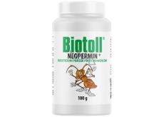 Biotoll Neopermin Insekticídny prášok proti mravcom s dlhodobým účinkom 100 g