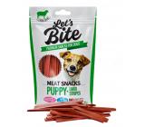 Brit Lets Bite Jahňacie masové prúžky pre šteňatá a mladých psov 80 g