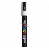 POSCO Univerzálny akrylátový popisovač 1,8 - 2,5 mm Biela