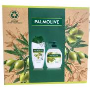 Palmolive Naturals Olive & Milk sprchový krém 250 ml + tekuté mydlo 300 ml, kozmetická sada