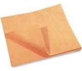 Clanax Petr Umývacie handra netkaný oranžový 50 x 60 cm, 180 g, 1 kus