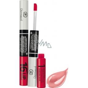 Dermacol 16H Lip Colour dlouhotrvající barva na rty 01 3 ml a 4,1 ml