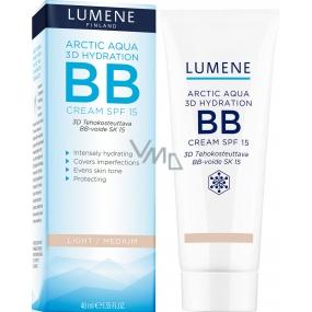 Lumene Arctic Aqua 3D Hydration SPF15 BB Cream Hydratační Light/Medium 40 ml