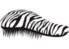 Dtangler Detangling Brush Kefa pre ľahké rozčesanie vlasov 18,5 cm bielo-čierny