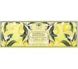 English Soap Citron & Mandarinka Přírodní parfémované mýdlo s bambuckým máslem 3x100g