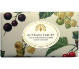 English Soap Vintage Autumn Fruits Prírodné parfumované mydlo s bambuckým maslom 200g