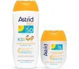 Astrid Sun Kids mlieko na opal.OF50 200ml + mlieko OF15 80 ml 4448