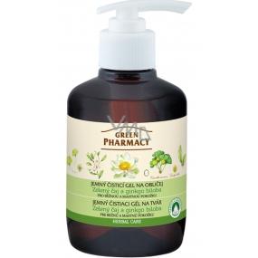 Green Pharmacy Zelený čaj a Ginkgo biloba jemný čistiaci gél na tvár 270 ml