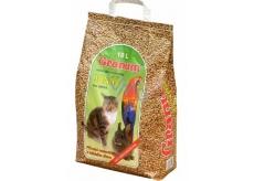Granum Jonáš Stelivo přírodní podestýlka ze dřeva pro kočky a jiné domácí zvířata 10 l, 5,5kg