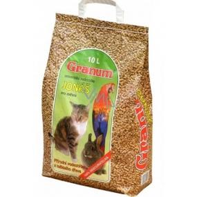 Granum Jonáš Stelivo prírodnej podstielka z dreva pre mačky a iné domáce zvieratá 10 l, 5,5 kg