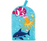 Baylis & Harding Kids Chobotnica rybička a žralok umývacie žinka pre deti 1 kus