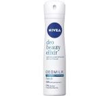 Nivea Deo Beauty Elixir Deomilk Fresh antiperspirant dezodorant sprej pre ženy 150 ml