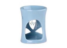 Aromalampa 70x90mm keramická modrá 8139