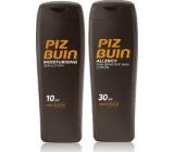 Piz Buin Allergy SPF30 mlieko na opaľovanie predchádza vzniku slnečnej alergie 200 ml + Moisturising Sun Lotion SPF 10 mlieko na opaľovanie 200 ml